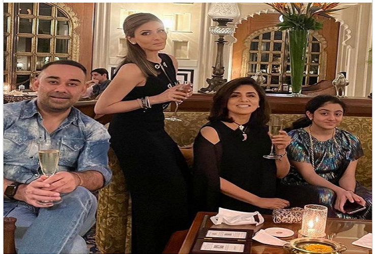 Riddhima Kapoor 41st Birthday: Rishi Kapoor's daughter Riddhima Kapoor reached Udaipur, the city of lakes to celebrate her 41st birthday with the Sahni family, Neetu Singh was also seen together, on Instagram, the mother wished her daughter like this?| entertainment News in Hindi