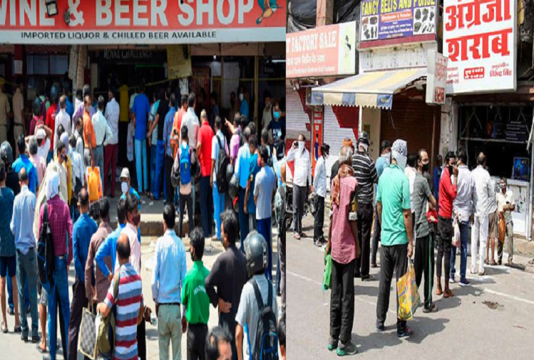 Big decision of Kejriwal government in Delhi, liquor shops will remain closed from October 1 to November 16, so this step was taken?