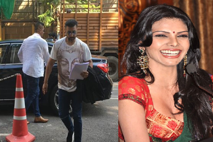 Mumbai : Businessman Raj Kundra and actress Shilpa Shetty, trapped in porn movie app racket, sue actress Sherlyn Chopra for defamation of 50 crores, Sherlyn filed a sexual harassment case against Raj Kundra| entertainment News in Hindi